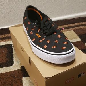 San F. Giants Vans Shoes